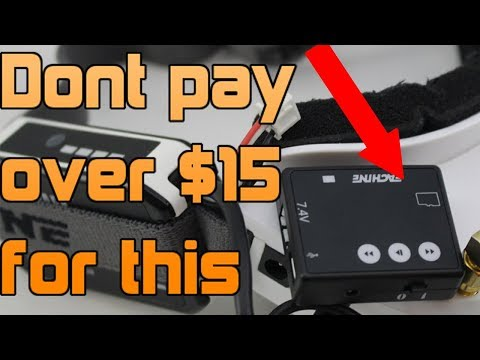 PROOF we are OVERPAYING for FPV goggles! Eachine dvr review - UC3ioIOr3tH6Yz8qzr418R-g