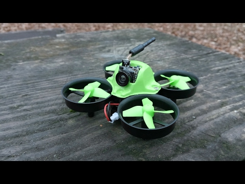 Makerfire Micro FPV Ducted Racing Drone Crazepony Deviation