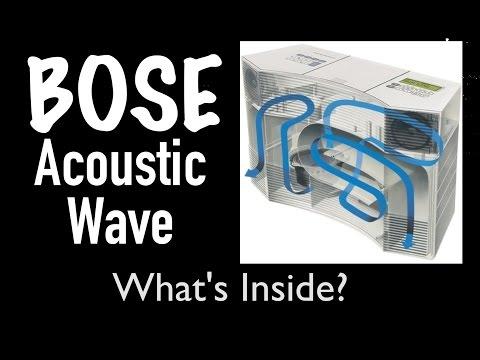 What's Inside $1100 Bose Acoustic Wave Music System CD-3000 - UCNd0qqcBpuXCWPM76lDUxqg