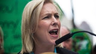 Senator Kirsten Gillibrand(D) discusses equal pay for the US Women's Soccer Team
