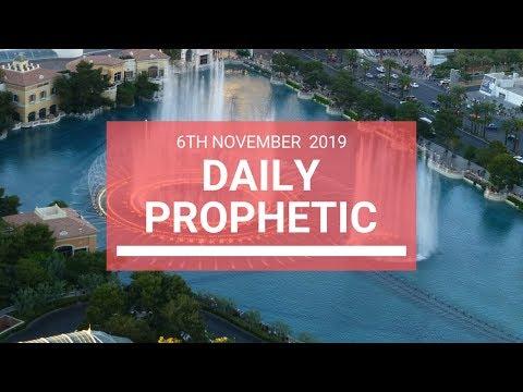 Daily Prophetic 6 November Word 6