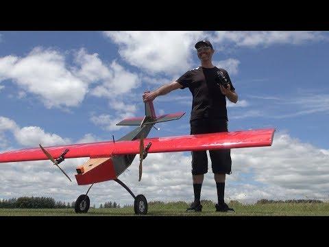 Maiden flight: iForce2D's huge flying coffin RC plane - UCQ2sg7vS7JkxKwtZuFZzn-g