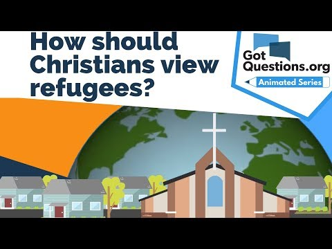 How should Christians view refugees?