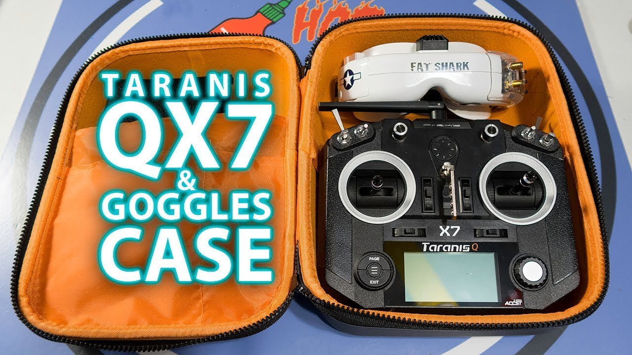 Taranis QX7 + Goggles Case - DailyDVR   Racer lt