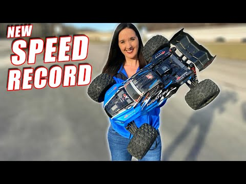 Fastest RC Car Ever On Our Channel NEW RECORD Speed Test - TheRcSaylors - UCYWhRC3xtD_acDIZdr53huA