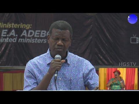 PASTOR E.A ADEBOYE SERMON  LET THERE BE LIGHT 2