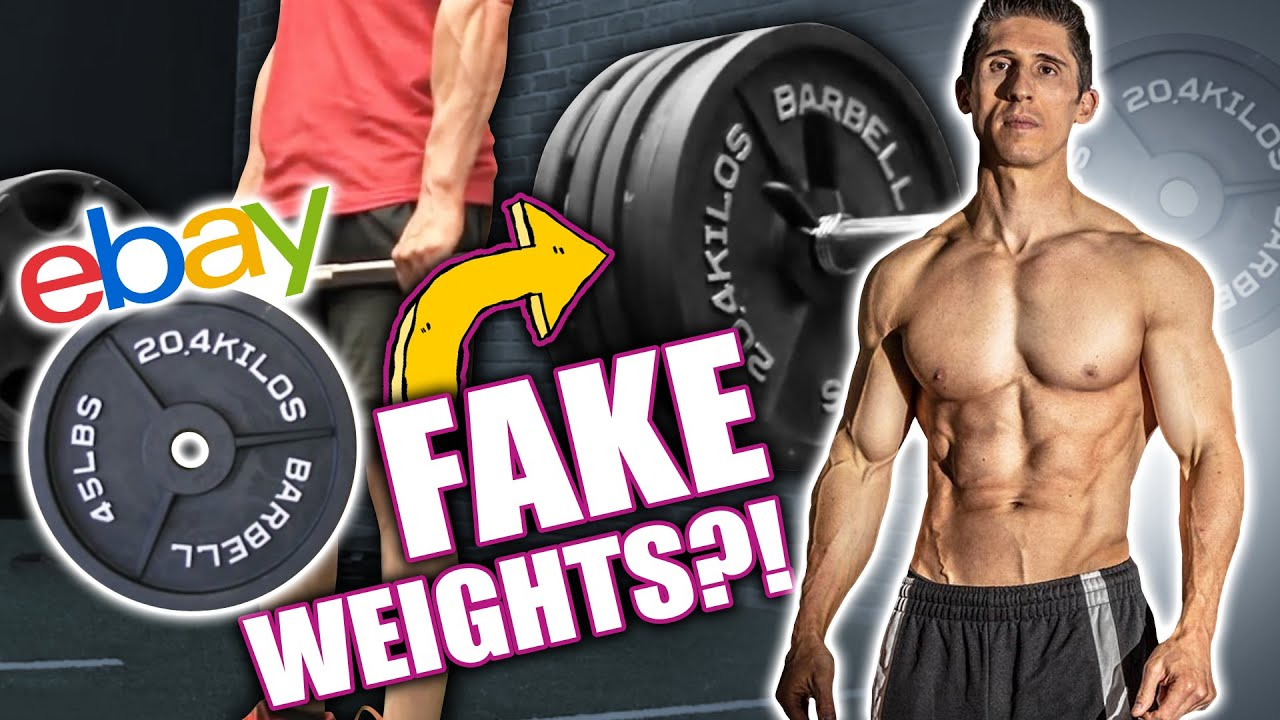 """Jeff Cavalier – ATHLEAN-X """"Fake Weights"""" Exposed! 