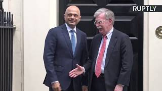 Sajid Javid leaves John Bolton hanging