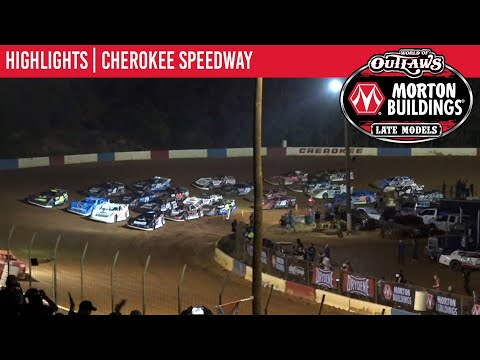 World of Outlaws Morton Building Late Models at Cherokee Speedway October 1, 2021 | HIGHLIGHTS - dirt track racing video image