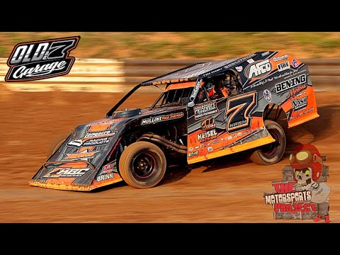 Fast or Last! Riding the wall Hammerdown at Fayette County $5k to win AMS Modifieds. - dirt track racing video image
