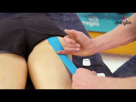 Workout Wednesday - Using Kinesiology tape on a Hamstring strain