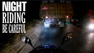 NIGHT RIDING! BE CAREFUL! IN HIGHWAY ROAD_2019_TAC Vlogs BD