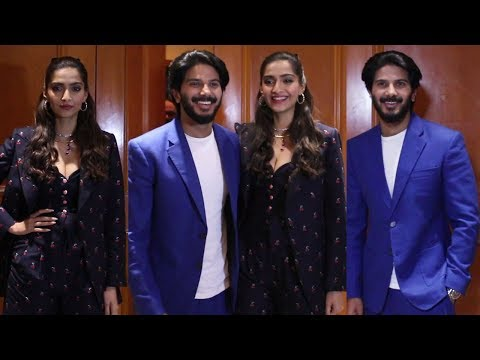 Sonam Kapoor And Dulquer Salmaan Promote Their Upcoming Movie The Zoya Factor