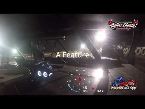 #42J Donnie Jackson - B Mod - 8-27-2021 Dallas County Speedway - In Car Camera - dirt track racing video image