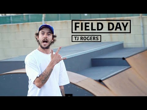 A Day with Pro Skateboarder TJ Rogers | FIELD DAY - UCf9ZbGG906ADVVtNMgctVrA