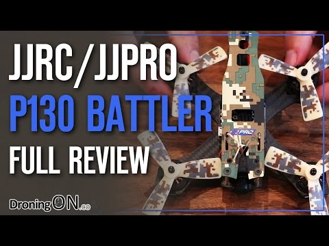 DroningON | JJRC JJPro P130 Battler Unboxing & LOS/FPV Flight Test Review - UCYoEOmvbMm0LX6AsIwANvug