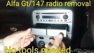 Sostituzione Autoradio Alfa Romeo GT