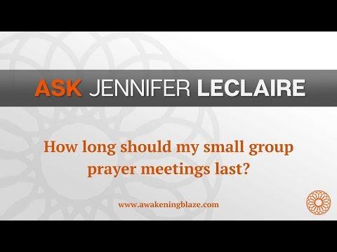 How Often Should My Prayer Group Meet?  Ask Jennifer LeClaire  Awakening Blaze