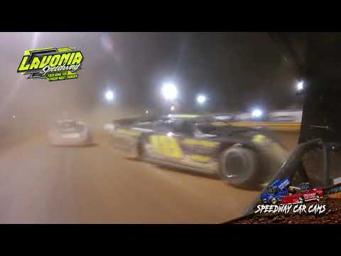 #76 Brandon Overton - World of Outlaws - 9-3-21 Lavonia Speedway - In-Car Camera - dirt track racing video image