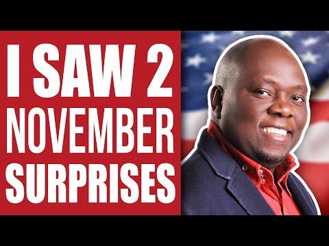 Jesus Showed Me 2 Surprises Coming in November