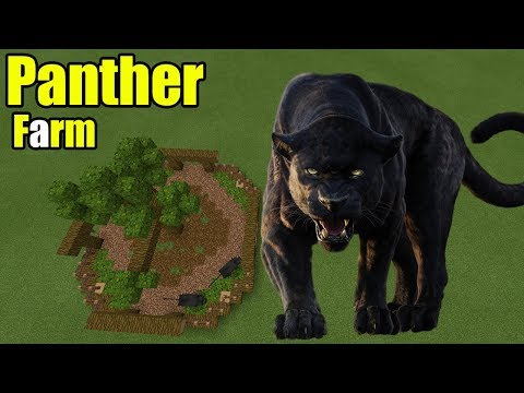 How to Make a Panther Farm | Minecraft PE - default