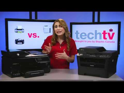 Inkjet vs. Laser Printers - Which one is right for you? - UCiib1itOCMpjpr1JZyrINtw