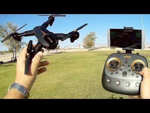 Visuo XS812 (XS-812W) GPS FPV Camera Drone Flight Test Review - UC90A4JdsSoFm1Okfu0DHTuQ