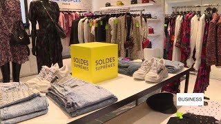 French retailers eye summer sales to make up for yellow vest losses