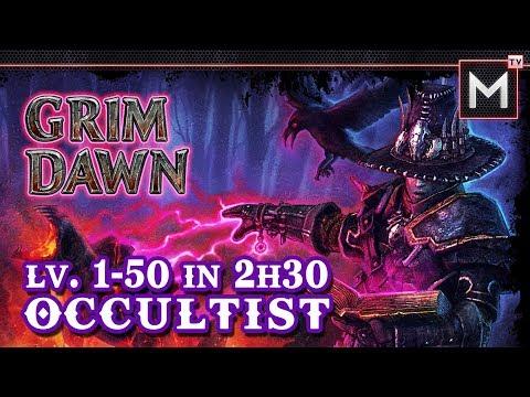 Occultist Leveling 1 to 50 In 2Hrs - Grim Dawn AoM - VidVui