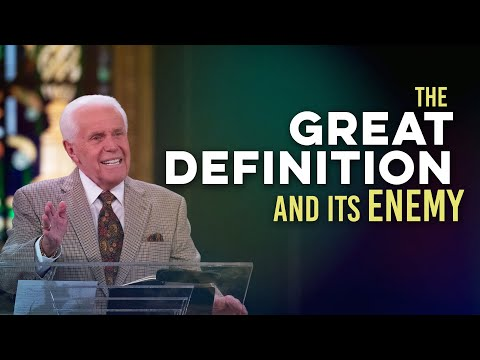The Great Definition And Its Enemy  Jesse Duplantis