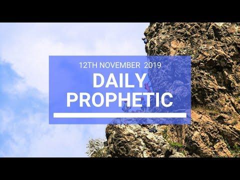 Daily Prophetic 12 November 2019 Word 2