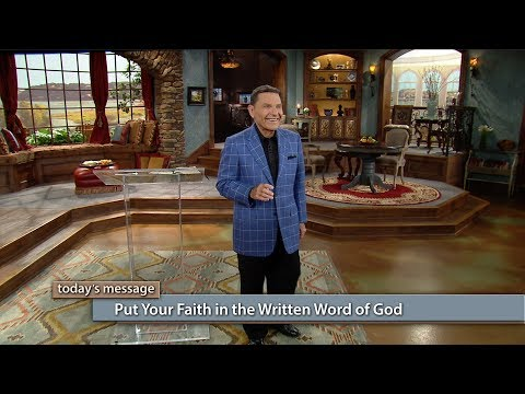 Put Your Faith in the Written WORD of God