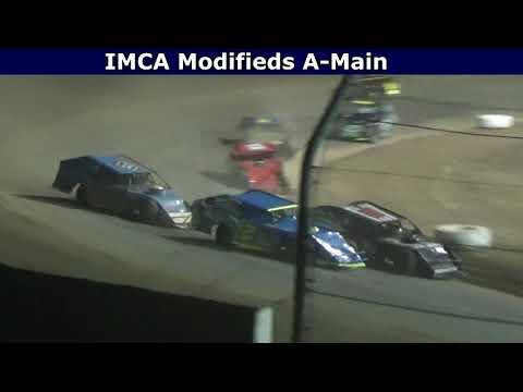 Grays Harbor Raceway, August 20, 2021, IMCA Modifieds A-Main - dirt track racing video image