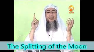 Prophet's ﷺ‎ Miracle of the Splitting of the Moon - Assim al hakeem