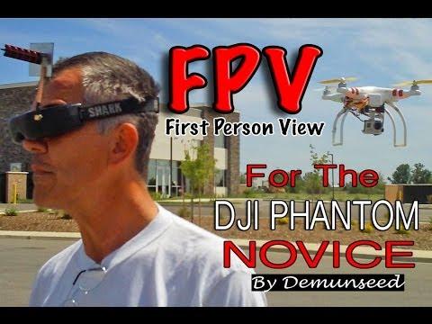 How To Fly FPV - DJI Phantom Quad Copter Multi Rotor Drone UAV - UCb4H6OTdWTG640qLlv2qCdg