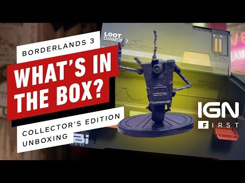 Borderlands 3 Diamond Loot Chest Super Deluxe Edition Unboxing - IGN First - UCKy1dAqELo0zrOtPkf0eTMw