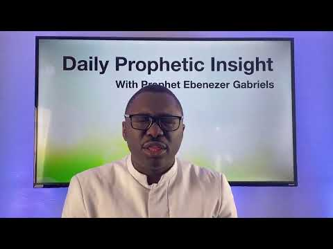 Prophetic Insight Feb 4th, 2021