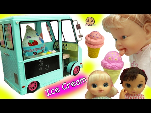 Babysitting 3 Magical Scoops Baby Alive Babies Eat From Doll Ice Cream Truck - UCelMeixAOTs2OQAAi9wU8-g