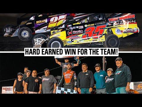 Mike Won At Fonda Speedway! - dirt track racing video image