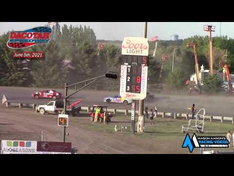 Dacotah Speedway IMCA Sport Compact A-Main (6/5/21) - dirt track racing video image