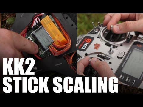 How to Flip a Quadcopter - KK2 Stick Scaling | Flite Test - UC9zTuyWffK9ckEz1216noAw