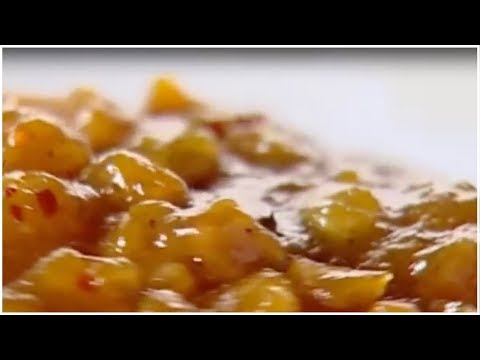 Apricot & Black Pepper Chutney - Sanjeev Kapoor - Khana Khazana