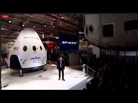 Unveiling of SpaceX Dragon V2 Full Webcast - UCwPWwFn4KdH5-VAotGK0y2g