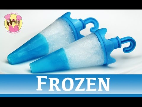 Frozen Jello Tip Popsicles Ice Lolly Block Pop Disney