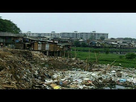 Indonesia giải tỏa nhà ổ chuột ở thủ đô