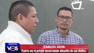 Carlos Silva podría ser el primer excarcelado absuelto de sus delitos