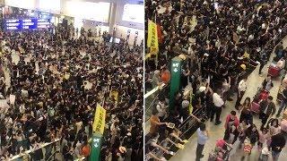 Hong Kong Airport Cancels Flights After Protest Chaos
