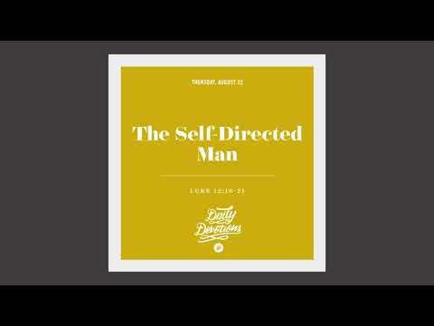 The Self-Directed Man - Daily Devotion