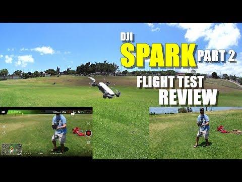 DJI SPARK In-Depth Flight Test Review - Part 2 - Controller Link, Sport Mode, Quickshot, Pros & Cons - UCVQWy-DTLpRqnuA17WZkjRQ