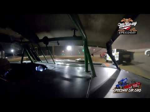 #1D Daniel Deason - POWRi Super Stock - 9-10-2021 Midway Speedway - In Car Camera - dirt track racing video image